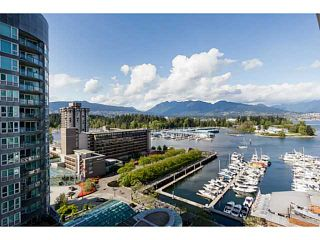 Photo 1: 1501 535 NICOLA Street in Vancouver: Coal Harbour Condo for sale (Vancouver West)  : MLS®# V1120857