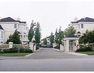 """Photo 1: 47 12411 JACK BELL Drive in Richmond: East Cambie Townhouse for sale in """"FRANCISCO VILLAGE"""" : MLS®# V775490"""