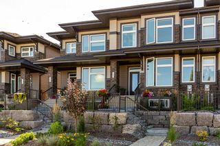 Photo 1: 161 HAYS RIDGE Boulevard in Edmonton: Zone 55 Attached Home for sale : MLS®# E4264438