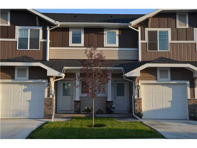 Main Photo: 128 300 MARINA Drive W in : Chestermere Townhouse for sale : MLS®# C3581362