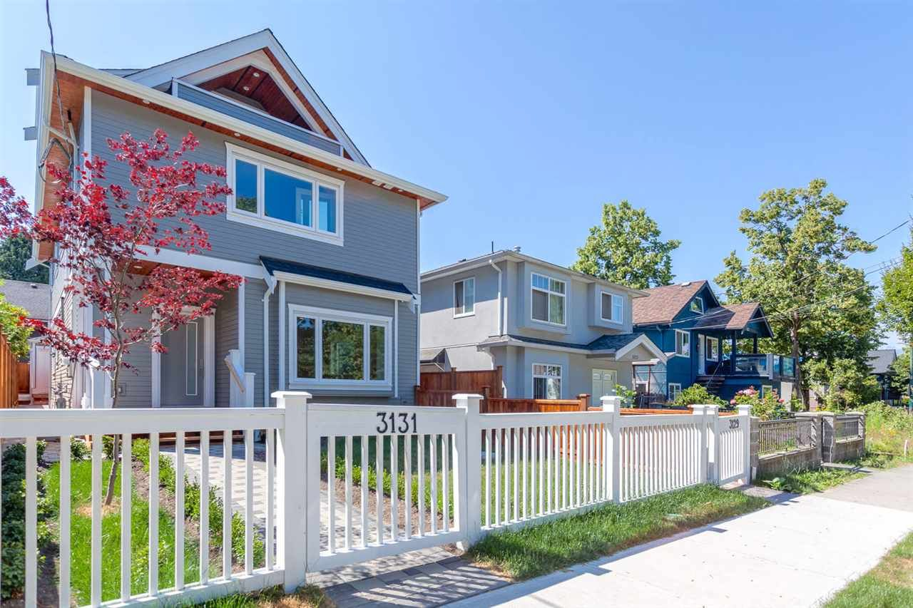 Main Photo: 3131 VICTORIA Drive in Vancouver: Grandview VE 1/2 Duplex for sale (Vancouver East)  : MLS®# R2201994
