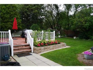 Photo 14: 14 Macalester Bay in Winnipeg: Fort Richmond Residential for sale (1K)  : MLS®# 1625516