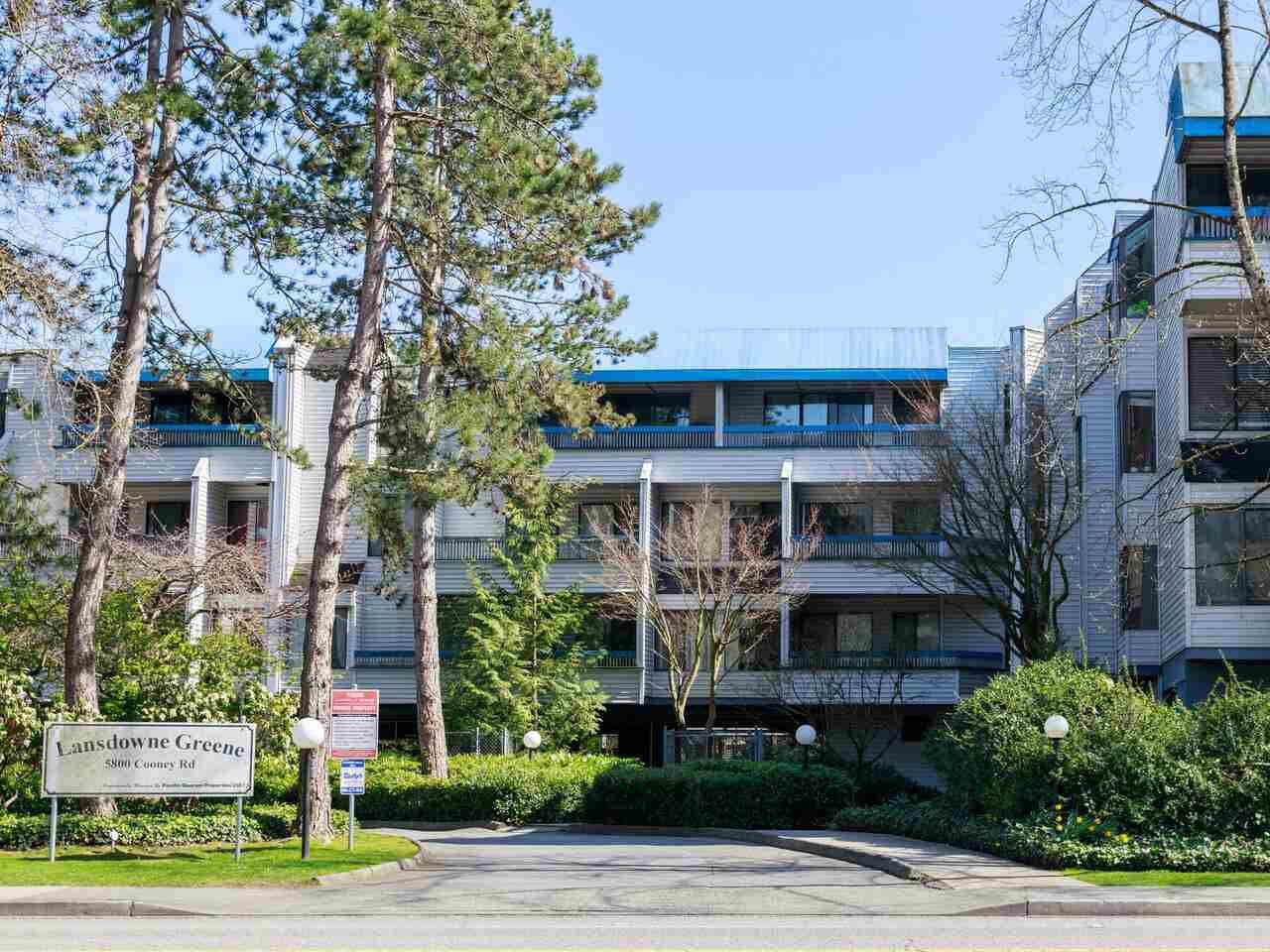"""Main Photo: 302 5800 COONEY Road in Richmond: Brighouse Condo for sale in """"Lansdowne Greene"""" : MLS®# R2560090"""