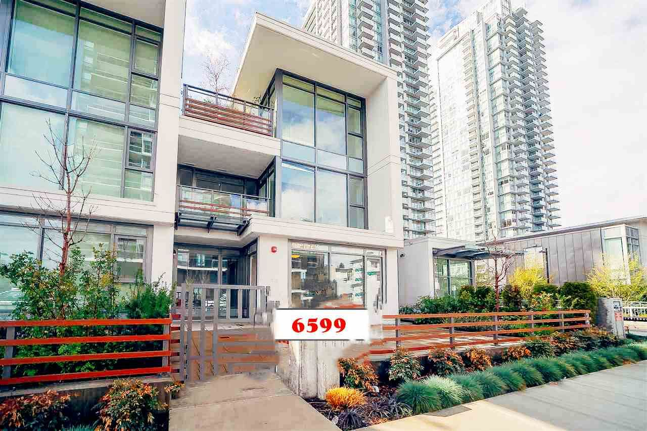 Main Photo: 6599 DUNBLANE Avenue in Burnaby: Metrotown Townhouse for sale (Burnaby South)  : MLS®# R2425512