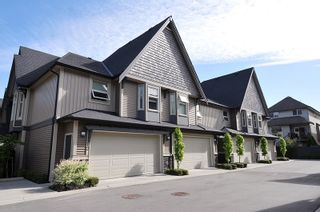 """Photo 1: 10 19095 MITCHELL Road in Pitt Meadows: Central Meadows Townhouse for sale in """"BROGDEN BROWN"""" : MLS®# R2367629"""