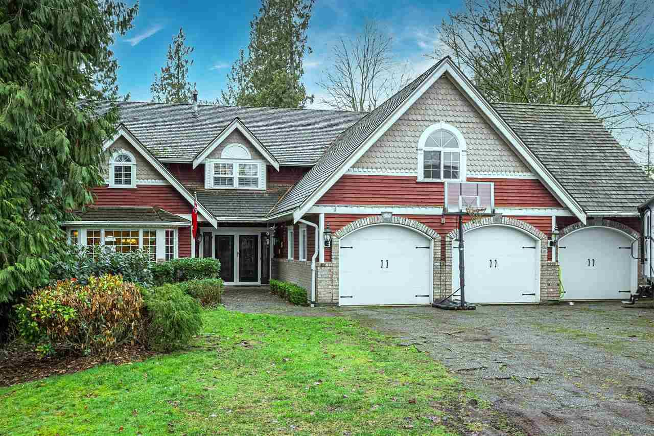 """Main Photo: 18102 CLAYTONWOOD Crescent in Surrey: Cloverdale BC House for sale in """"Claytonwoods"""" (Cloverdale)  : MLS®# R2580715"""