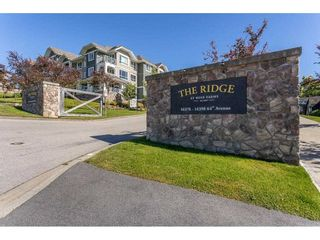 """Photo 1: 104 16398 64 Avenue in Surrey: Cloverdale BC Condo for sale in """"The Ridge at Bose Farm"""" (Cloverdale)  : MLS®# R2590975"""