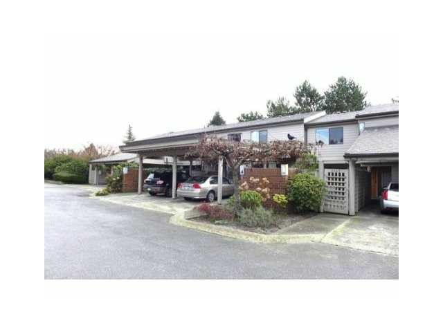 """Main Photo: 2167 MCMULLEN Avenue in Vancouver: Quilchena Townhouse for sale in """"ARBUTUS VILLAGE"""" (Vancouver West)  : MLS®# V1045706"""