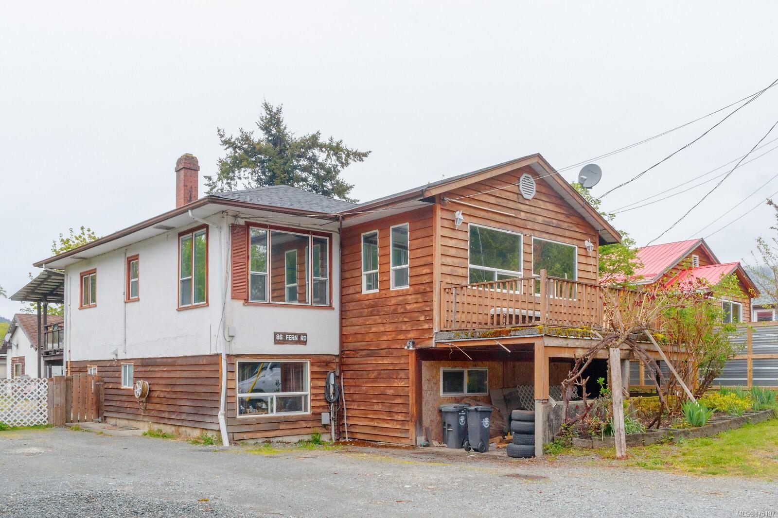 Main Photo: 86 Fern Rd in : Du Lake Cowichan House for sale (Duncan)  : MLS®# 875197