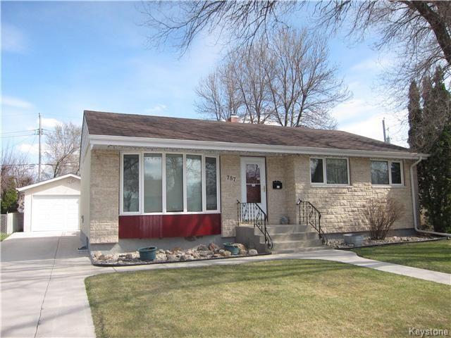 Main Photo: 787 Adamdell Crescent in Winnipeg: Residential for sale (3B)  : MLS®# 1710629