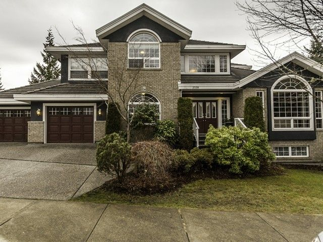 Main Photo: 2558 DIAMOND CR in Coquitlam: Westwood Plateau Home for sale ()  : MLS®# V1102258
