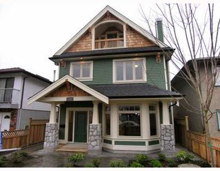 Photo 1: 1196 E 11TH Avenue in Vancouver: Mount Pleasant VE 1/2 Duplex for sale (Vancouver East)  : MLS®# V756717