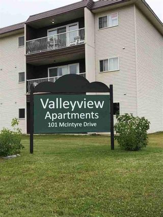 "Photo 1: 108 101 MCINTYRE Drive in Mackenzie: Mackenzie -Town Condo for sale in ""Valleyview Apartments"" (Mackenzie (Zone 69))  : MLS®# R2546984"