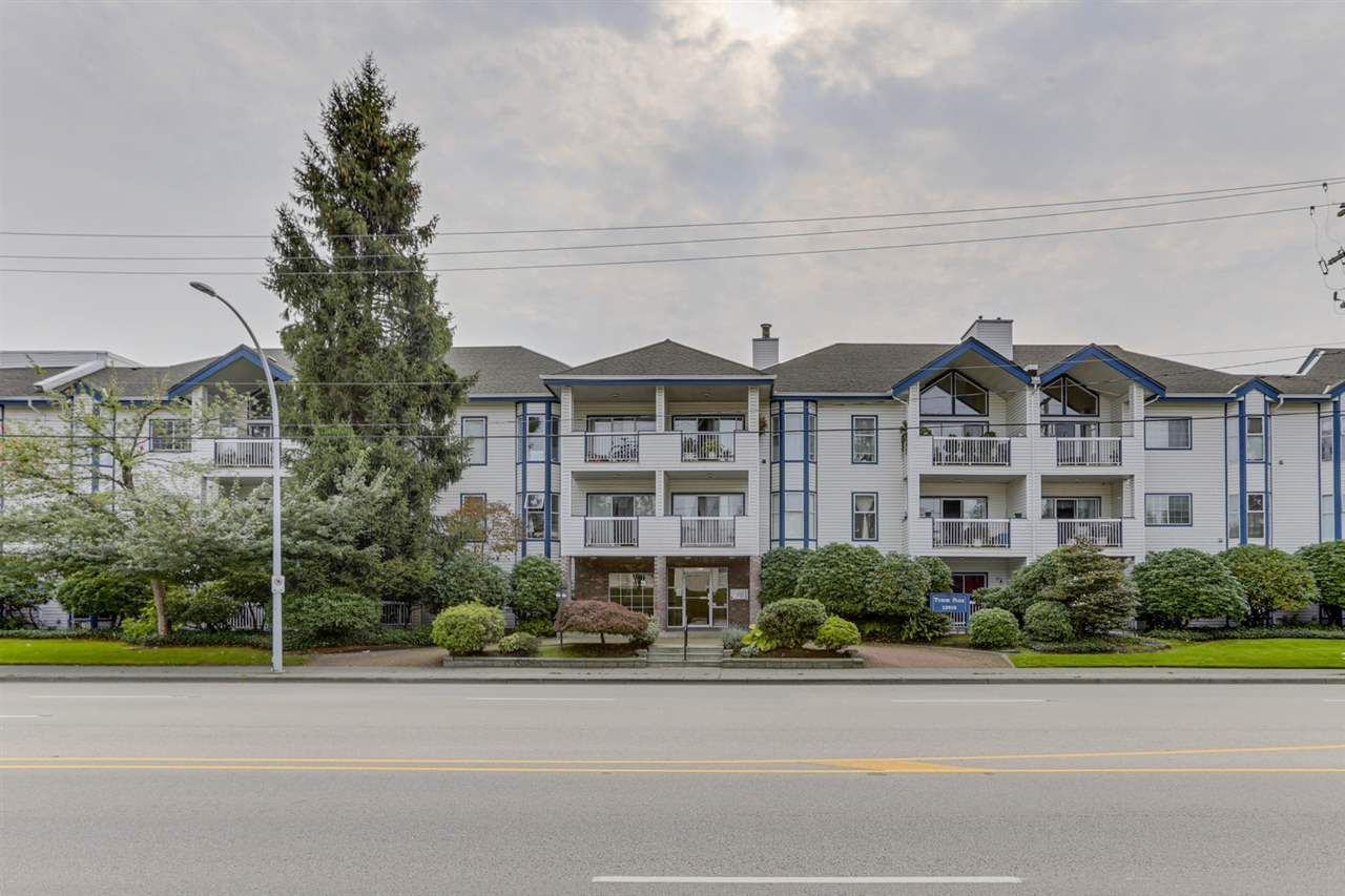 "Main Photo: 118 13918 72 Avenue in Surrey: East Newton Condo for sale in ""TUDOR PARK"" : MLS®# R2506329"