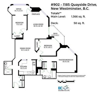 """Photo 20: 902 1185 QUAYSIDE Drive in New Westminster: Quay Condo for sale in """"RIVIERA MANSIONS"""" : MLS®# R2085101"""