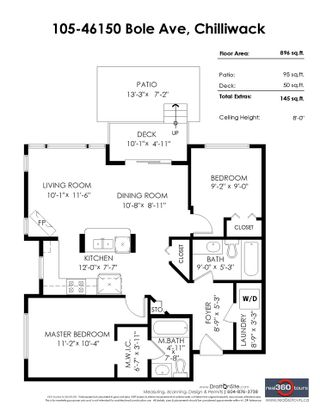 """Photo 2: 105 46150 BOLE Avenue in Chilliwack: Chilliwack N Yale-Well Condo for sale in """"THE NEWMARK"""" : MLS®# R2382418"""