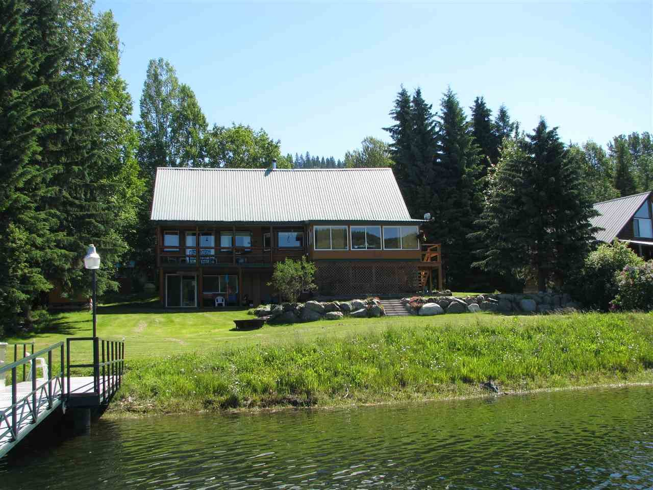 Main Photo: 6147 CEDAR CREEK Road: Likely House for sale (Williams Lake (Zone 27))  : MLS®# R2345866