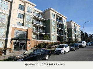 "Photo 1: 225 13789 107A Avenue in Surrey: Whalley Condo for sale in ""Quattro II"" (North Surrey)  : MLS®# R2326632"