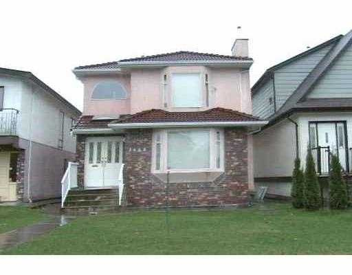 Main Photo: 3608 NAPIER ST in Vancouver: Renfrew VE House for sale (Vancouver East)  : MLS®# V542888