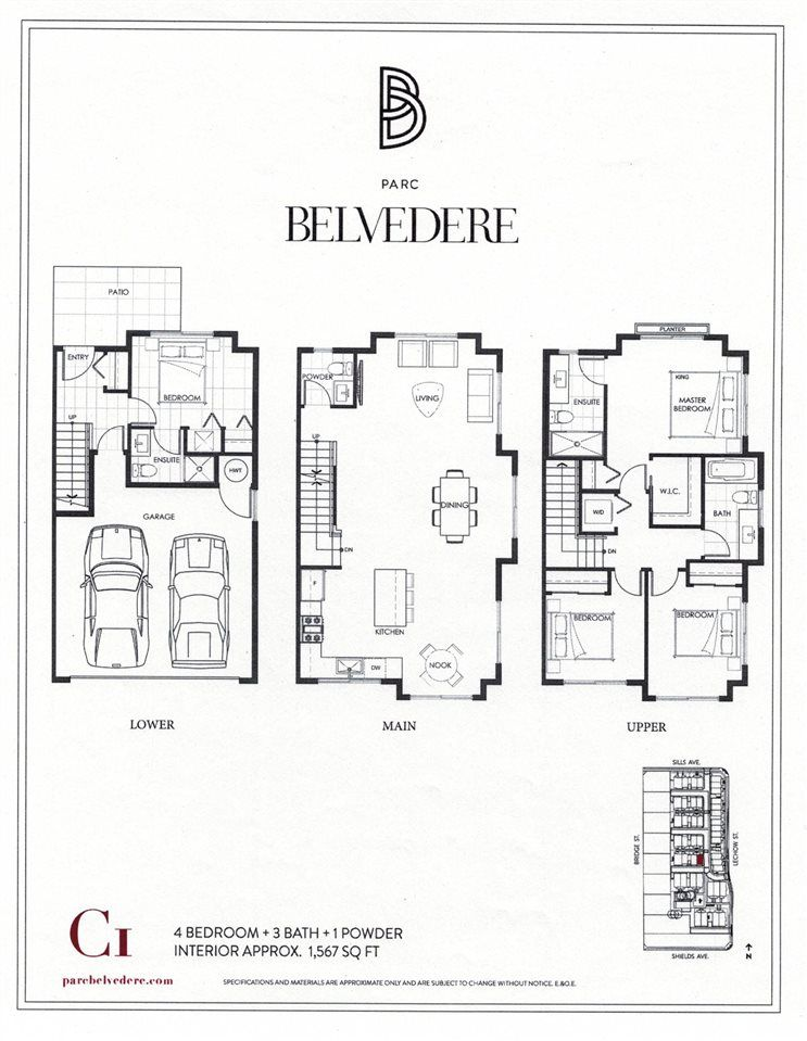 """Main Photo: 65 7191 LECHOW Street in Richmond: McLennan North Townhouse for sale in """"PARC BELVEDERE"""" : MLS®# R2192376"""