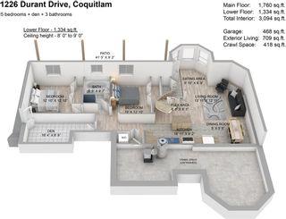 "Photo 18: 1226 DURANT Drive in Coquitlam: Scott Creek House for sale in ""Eagleridge"" : MLS®# R2577574"