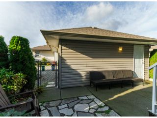"""Photo 17: 122 33751 7TH Avenue in Mission: Mission BC Townhouse for sale in """"HERITAGE PARK PLACE"""" : MLS®# F1426580"""