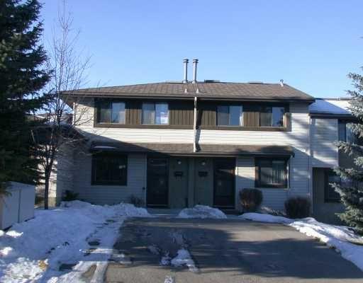 Main Photo:  in CALGARY: Braeside Braesde Est Townhouse for sale (Calgary)  : MLS®# C3107438