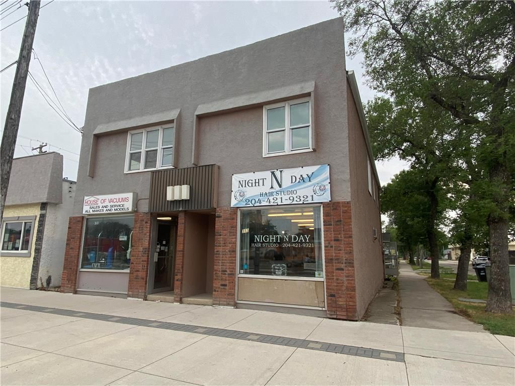 Main Photo: 313 Day Street in Winnipeg: Industrial / Commercial / Investment for sale (3L)  : MLS®# 202118514