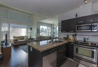 """Photo 4: 415 33539 HOLLAND Avenue in Abbotsford: Central Abbotsford Condo for sale in """"THE CROSSING"""" : MLS®# R2159342"""