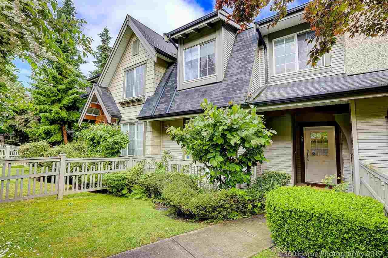 """Main Photo: 58 8415 CUMBERLAND Place in Burnaby: The Crest Townhouse for sale in """"ASHCOMBE"""" (Burnaby East)  : MLS®# R2179121"""