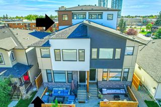 Main Photo: 2 940 38th Street W in Calgary: Rosscarrock Row/Townhouse for sale : MLS®# A1104024