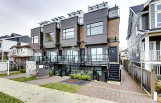 Photo 1: 5031 CHAMBERS STREET in Vancouver: Collingwood VE Townhouse for sale (Vancouver East)  : MLS®# R2520687