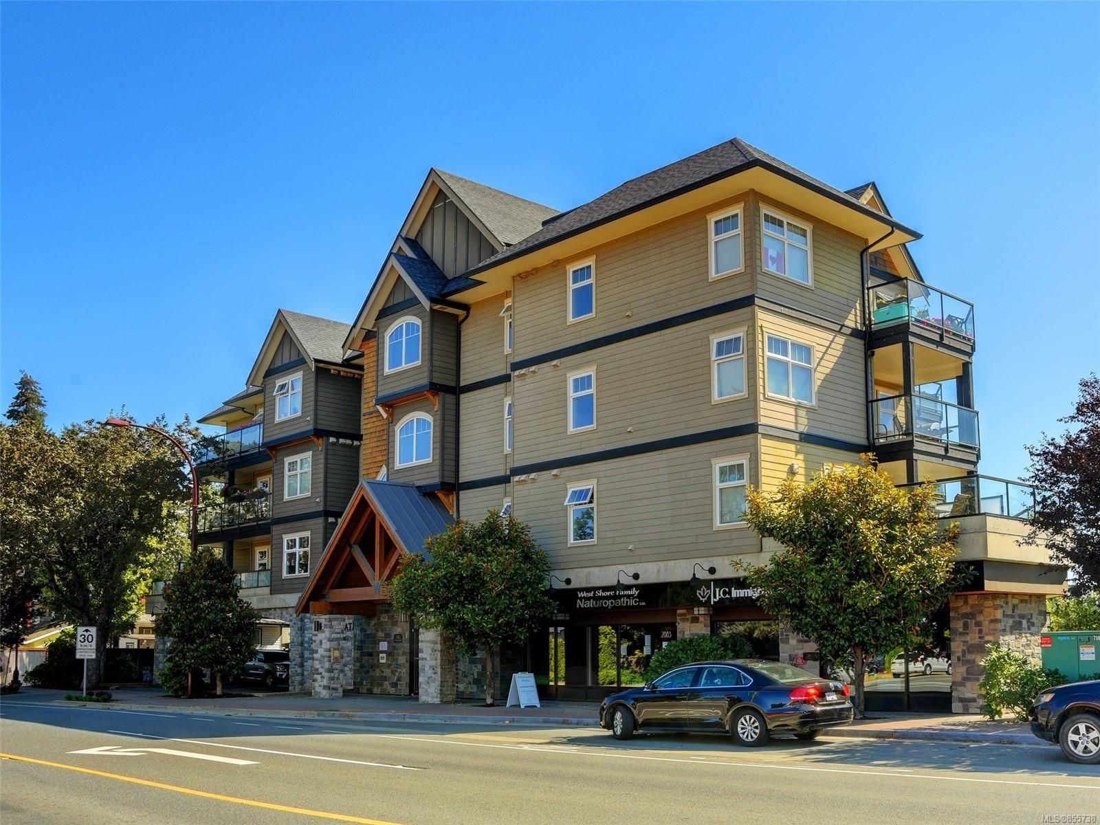 Main Photo: 202 2881 Peatt Rd in : La Langford Proper Condo for sale (Langford)  : MLS®# 855738