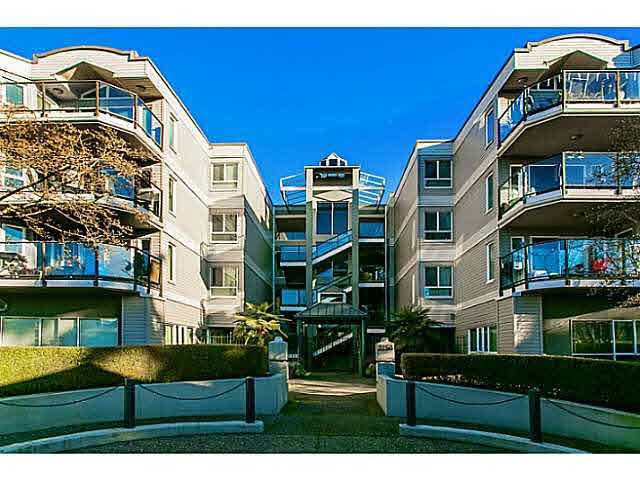 """Photo 1: Photos: 214 2250 SE MARINE Drive in Vancouver: Fraserview VE Condo for sale in """"WATERSIDE"""" (Vancouver East)  : MLS®# V1103977"""