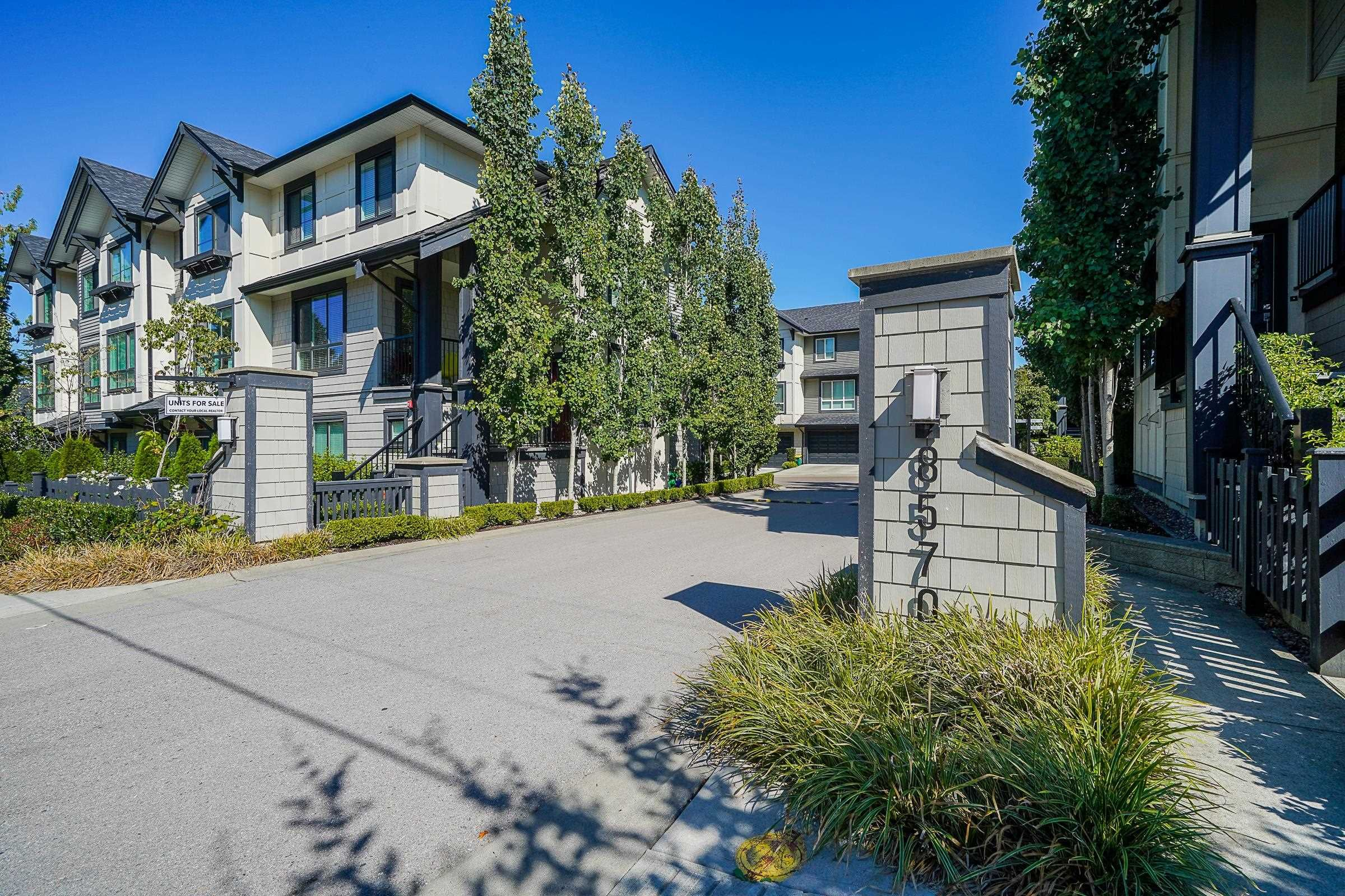 """Main Photo: 9 8570 204 Street in Langley: Willoughby Heights Townhouse for sale in """"WOODLAND PARK"""" : MLS®# R2614835"""