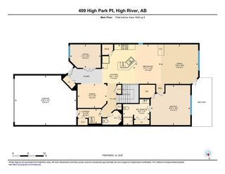 Photo 26: 409 High Park Place NW: High River Semi Detached for sale : MLS®# A1012783