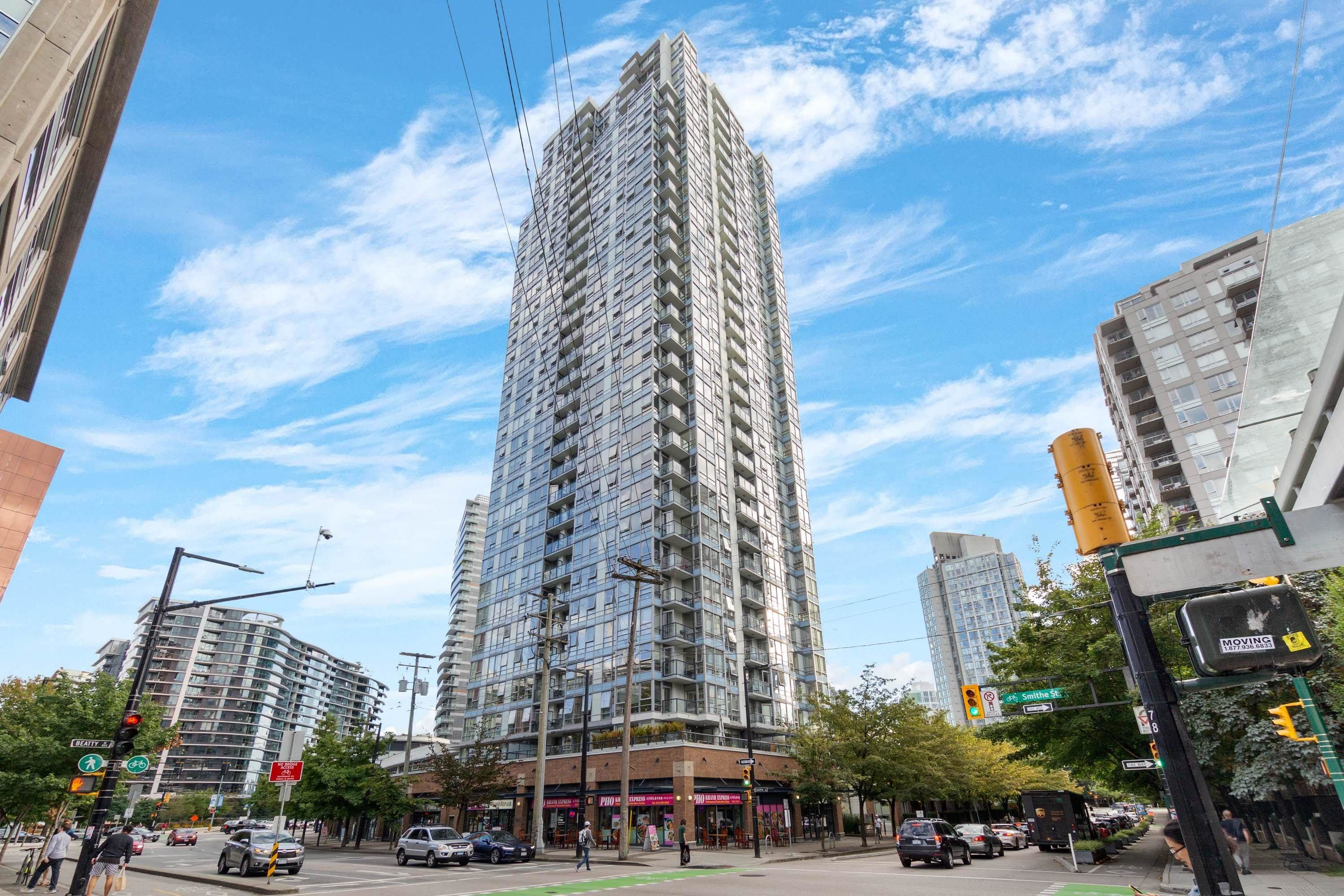 Main Photo: 1709 928 BEATTY Street in Vancouver: Yaletown Condo for sale (Vancouver West)  : MLS®# R2615839