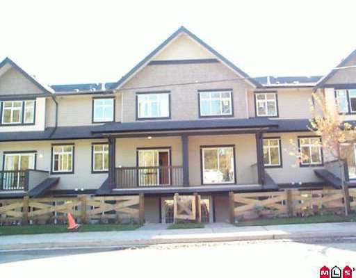 """Main Photo: 8 19932 70 AV in Langley: Willoughby Heights Townhouse for sale in """"SUMMERWOOD"""" : MLS®# F2526909"""