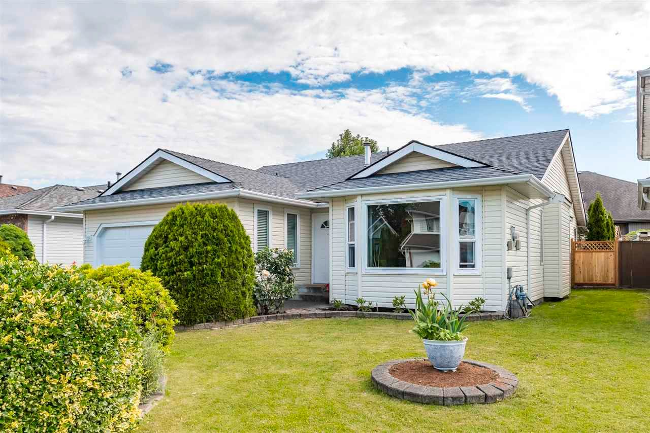 """Main Photo: 7532 SAPPHIRE Drive in Chilliwack: Sardis West Vedder Rd House for sale in """"Regency Park"""" (Sardis)  : MLS®# R2589296"""