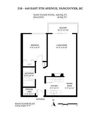 "Photo 18: 216 440 E 5TH Avenue in Vancouver: Mount Pleasant VE Condo for sale in ""Landmark Manor"" (Vancouver East)  : MLS®# R2577111"
