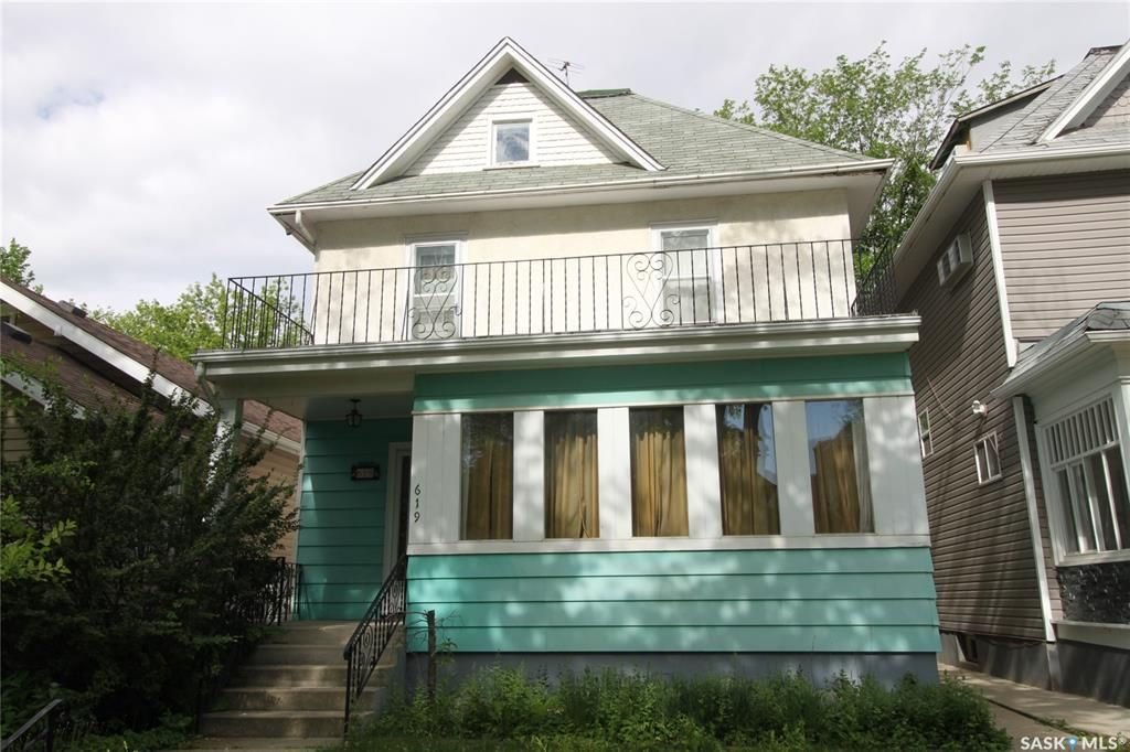 Main Photo: 619 6th Avenue North in Saskatoon: City Park Residential for sale : MLS®# SK859824