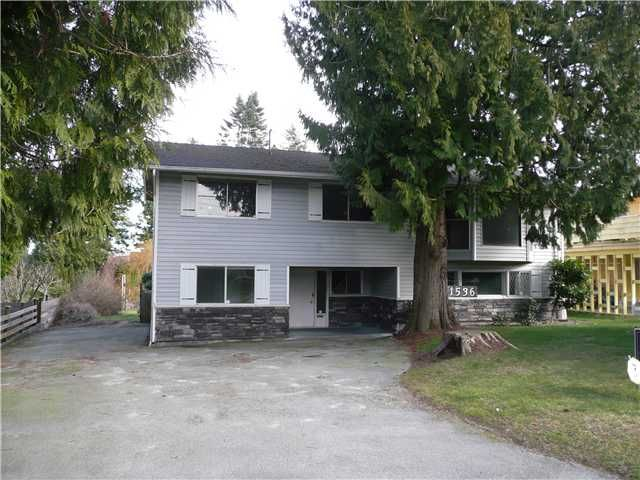 "Main Photo: 1536 53A Street in Tsawwassen: Cliff Drive House for sale in ""TSAWWASSEN HEIGHTS"" : MLS®# V871906"