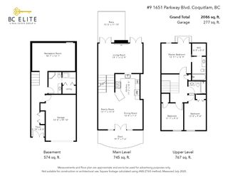 """Photo 30: 9 1651 PARKWAY Boulevard in Coquitlam: Westwood Plateau Townhouse for sale in """"VERDANT CREEK"""" : MLS®# R2478648"""