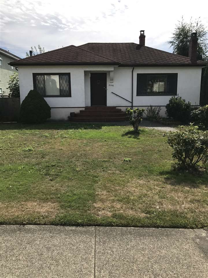 Main Photo: 2346 W 18TH Avenue in Vancouver: Arbutus House for sale (Vancouver West)  : MLS®# R2205841