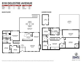 Photo 32: 818 DELESTRE Avenue in Coquitlam: Coquitlam West House for sale : MLS®# R2584831