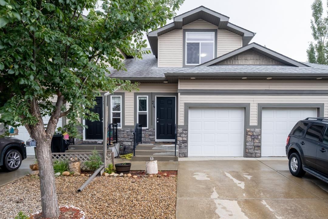 Main Photo: 24 10 WOODCREST Lane: Fort Saskatchewan Townhouse for sale : MLS®# E4262079