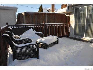 Photo 20: 234 Sydney Avenue in WINNIPEG: East Kildonan Residential for sale (North East Winnipeg)  : MLS®# 1601839
