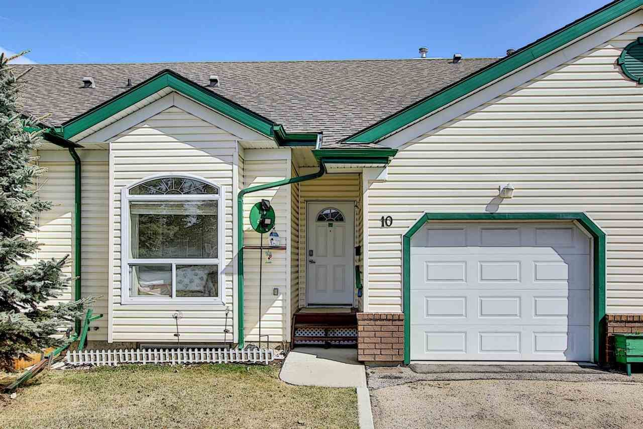 Main Photo: 10 13615 34 Street in Edmonton: Zone 35 Townhouse for sale : MLS®# E4256828