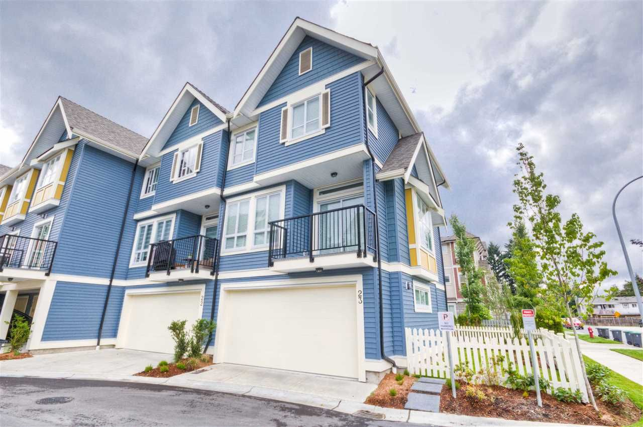 "Main Photo: 23 14388 103 Avenue in Surrey: Whalley Townhouse for sale in ""THE VIRTUE"" (North Surrey)  : MLS®# R2083515"