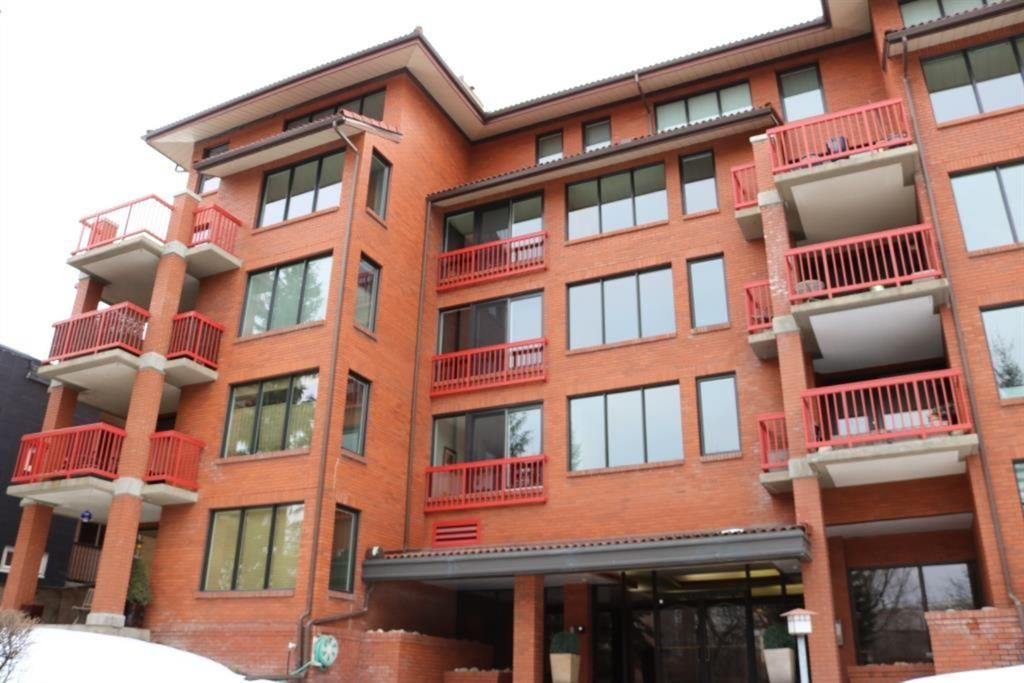 Main Photo: 406 1313 Cameron Avenue SW in Calgary: Lower Mount Royal Apartment for sale : MLS®# A1081886
